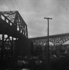 All sizes | Untitled | Flickr - Photo Sharing! #white #modified #black #photography #film #bridge #cleveland