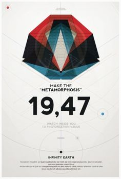 External Design Inspiration – Awesome Graphic Design by Metric72 | Cromoart #poster