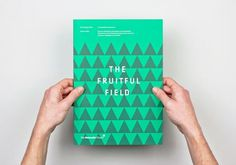 design work life » Maddison Graphic: The Fruitful Field #magazine #editorial #book #brochure