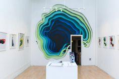 1010-1 #illusion #mural #portal #1010 #colour