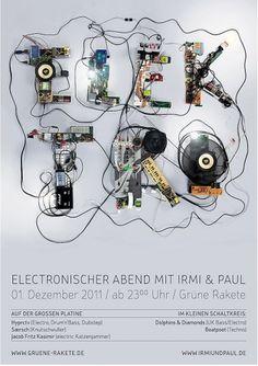 Bropix - Online Portfolio von Dirk Schuster - Grafik Design und Illustrationen - TrierElektro Plakatgestaltung #dirk #elektro #real #stilllife #bropix #schuster #typo