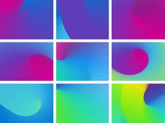 New Identity for and by Evidently #move #color #pattern #branding