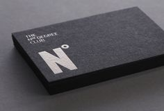 The Nth Degree Club | Luke Woodhouse #business #card #design #graphic #brand #logo