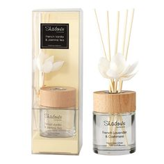 Fragrant Solar Flower Diffuser French Vanilla & Jasmine Tea, 80 ml