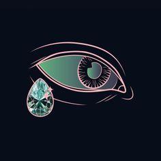 Sparkling Tear by Maria Umiewska