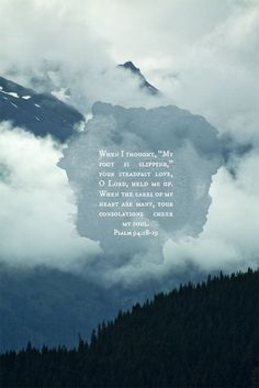 Tumblr #typography #clouds #mountains #poetry