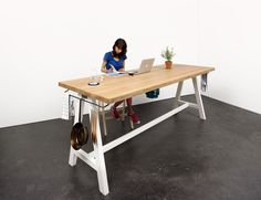 Design solution for cooking, dining and socialization: The Cooking Table by Putzier Moritz #ideas #design #solution