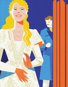 The New Yorker | Theater review for Kiss Me, Kate #illustration