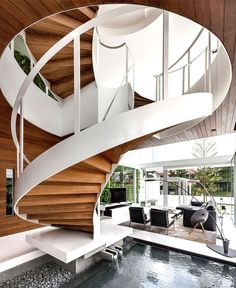 Greja Glass House by Park + Associates - stairs, staircase, architecture, interior design, home #design, #stairs