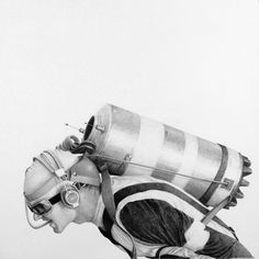 Drawings by Ethan Murrow | 123 Inspiration #aviation #pencil #sketch