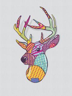 Más tamaños | moose | Flickr: ¡Intercambio de fotos! #deer #moose #stitch #patch