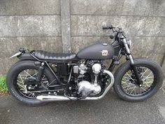 1971 Honda CB175 Modifications BRATSTYLE Classic and Vintage Motorcycles