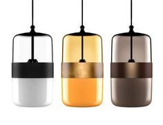 Three Color Futura Lamps