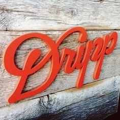 Dripp, SK Design #font #lettering #design #3d #typography