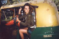 MAP News – Cass Bird Shoots Daria Werbowy in India for Maiyet SS13 Campaign #girl #photography #bird #india #cass #daria #werbowy