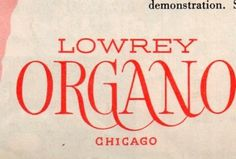 Design and Typography #logo #1950 #typography