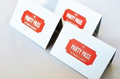 David Arias – Branding and Design / Freelance Graphic Designer / Vancouver, Canada / Party Pass #card #pass #business #party