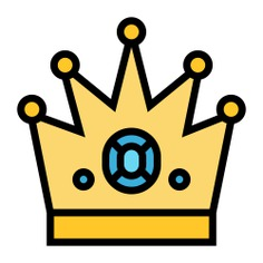 See more icon inspiration related to crown, king, win, champion, royal, fashion, accessory and winner on Flaticon.