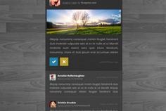 Dark status box social media site Free Psd. See more inspiration related to Social media, Box, Social, Flat, Media, Psd, Dark, Site, Horizontal, Status and Version on Freepik.