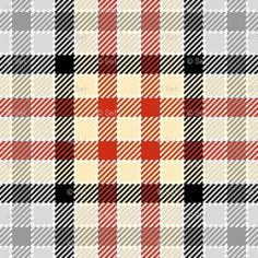 plaid #plaid #red #black #grey