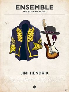styleofmusic-jimihendrix.jpg (JPEG Image, 600×791 pixels) - Scaled (72%) #illustration #hendrix