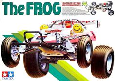 Tamiya The Frog #illustration #retro