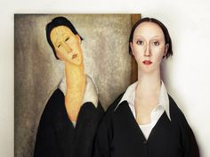 'The Real Life Models' by Flora Borsi | PICDIT #painting #digital #art
