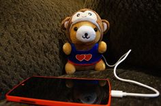 Charlie the ChargeBear #tech #flow #gadget #gift #ideas #cool