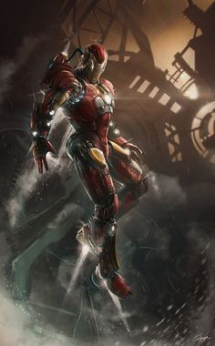 Ironman C14 kailyze by Kailyze #iron #digital #illustration #art #man #fan