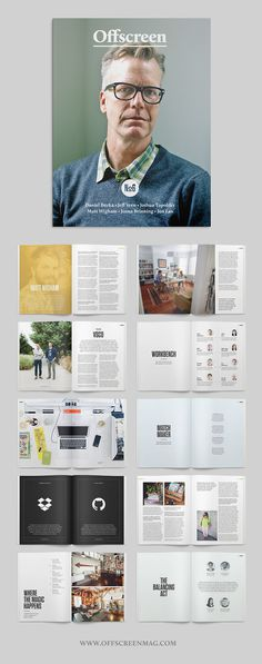 Offscreen Issue No6 #print #editorial #magazine
