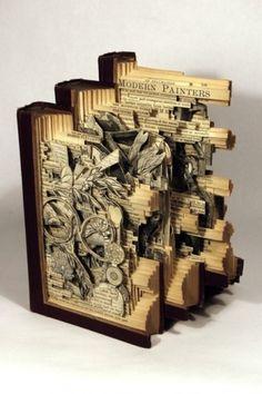 BMD Love Blog #illustration #sculpture #book #cutout