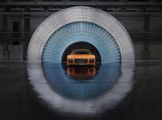 Art by Sebastien Preschoux  Art directed by Vinny Olimpio Photo by: Benedict Redgrove  #art #automotive #audi #r8 #audir8 #artdirection