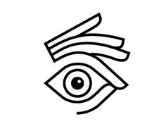 Hands #logo #line #hand #eye