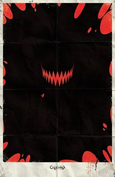 Marvel Minimalist Posters Vol.2 on the Behance Network #carnage #comics #marvel