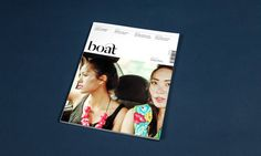 Boat Magazine Issue 7 Designed by She Was Only #design #editorial #magazine