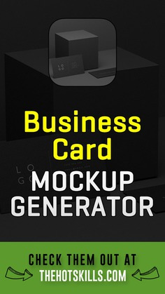 Best business card mockup generator tools to create stunning mockups for presentation