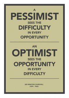 Pessimist / Optimist Art Print by Getrealpaid | Society6