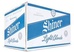 Shiner Light Blonde Case #packaging #beer #case