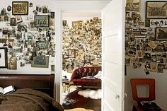 a billion tastes and tunes: cluttered and beautiful spaces #pictures #photographs #room