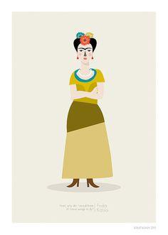 Frida Kahlo Print    Different Sizes