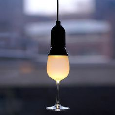 Glassbulb Lamp by Oooms #tech #flow #gadget #gift #ideas #cool