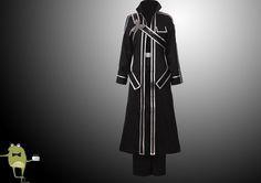 Sword Art Online Krito Cosplay Costume