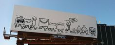 Kevin_Lyons01 #urban #illustration #art #billboard