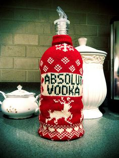 Absolute Vodka Sweater