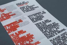 Hybrid Design : Projects : Advertising : AIGA Hung Up