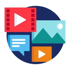 See more icon inspiration related to campaign, multimedia, ui, digital campaign, seo and web, music and multimedia, video player, pictures, image, messages, marketing, digital, business and web on Flaticon.