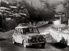 Mini-at-the-Monte-Carlo-Rally-1967-Aaltonen-and-Liddon-1024x768.jpg (JPEG Image, 1024 × 768 pixels) #mini #monte #rally #cooper #carlo