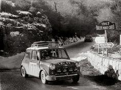 Mini-at-the-Monte-Carlo-Rally-1967-Aaltonen-and-Liddon-1024x768.jpg (JPEG Image, 1024×768 pixels) #mini #monte #rally #cooper #carlo