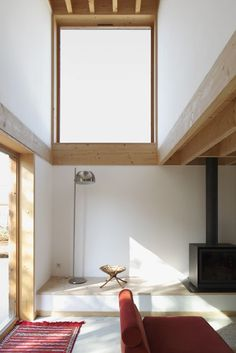 Sampans House | iGNANT.de #white #interiors #wood #architecture #houses #light
