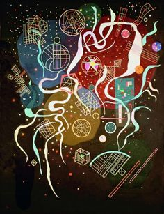 Art History #mixed #media #kandinsky